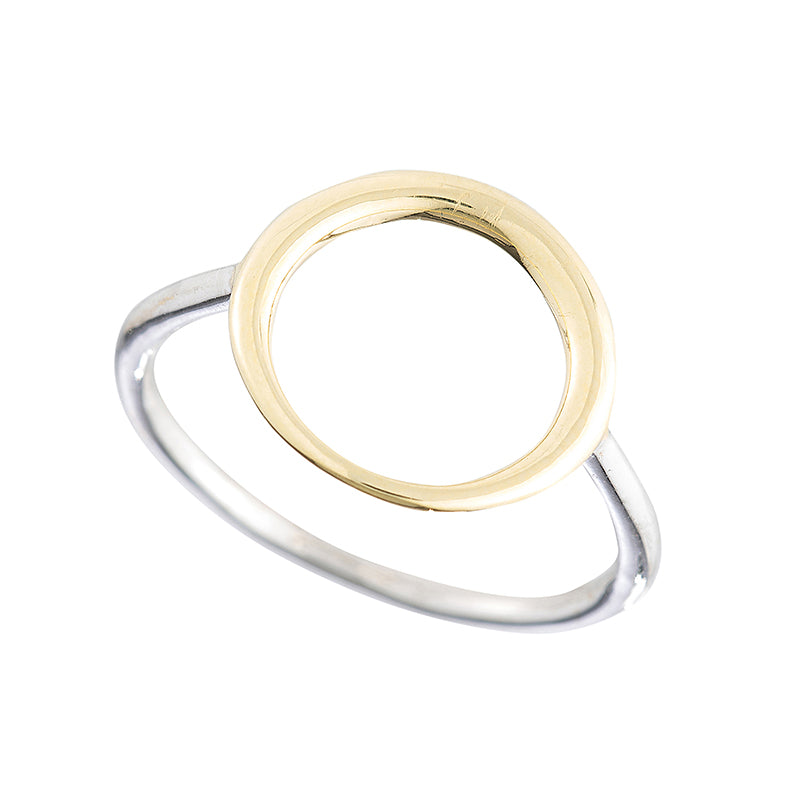 Greece Open Circle Ring-Rings-Ashley Schenkein Jewelry Design
