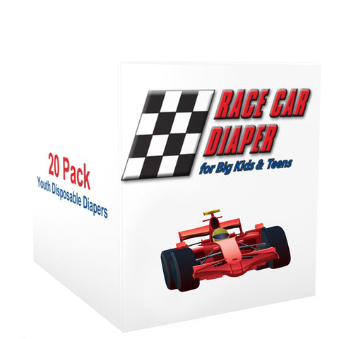 20 Pack Race Car Diapers