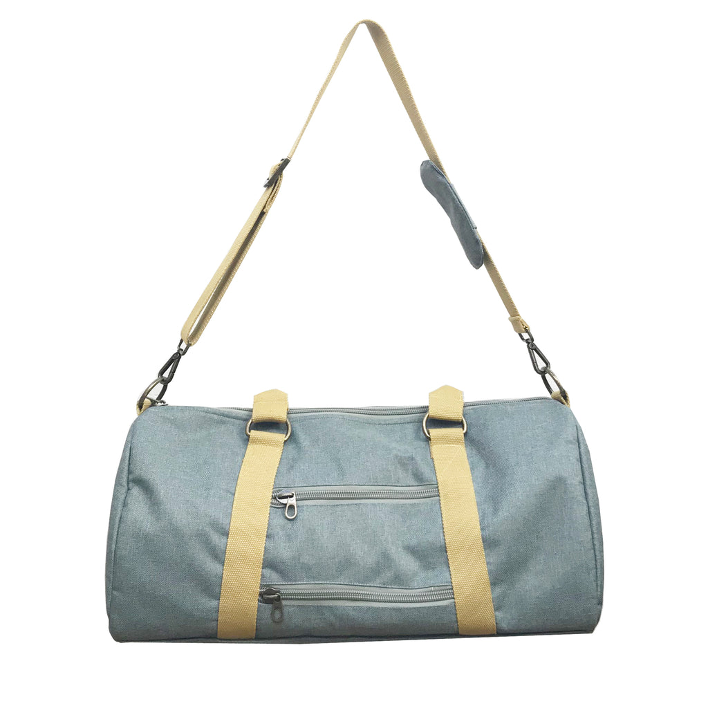 Overnight Duffle Bag</br>Chambray Canvas</br><small><i>(Cactus/ Sunset Gold)</i></small>