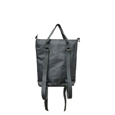 Backpack Tote </br><small><i>(Charcoal)</i></small> - Meridian Lee