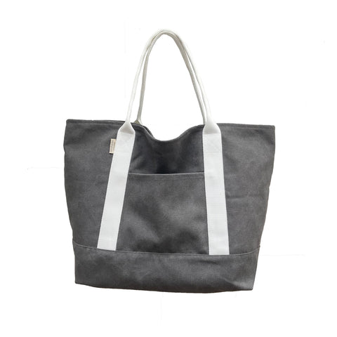 Market Tote</br><i><small>(Grey)</i></small> - Meridian Lee