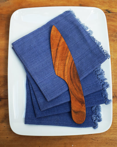 Hand Loomed Napkins </br><small><i>(Cobalt)</i></small> - Meridian Lee
