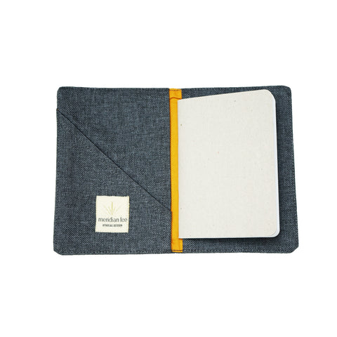 Passport Cover</br><i><small>(Charcoal)</i></small> - Meridian Lee
