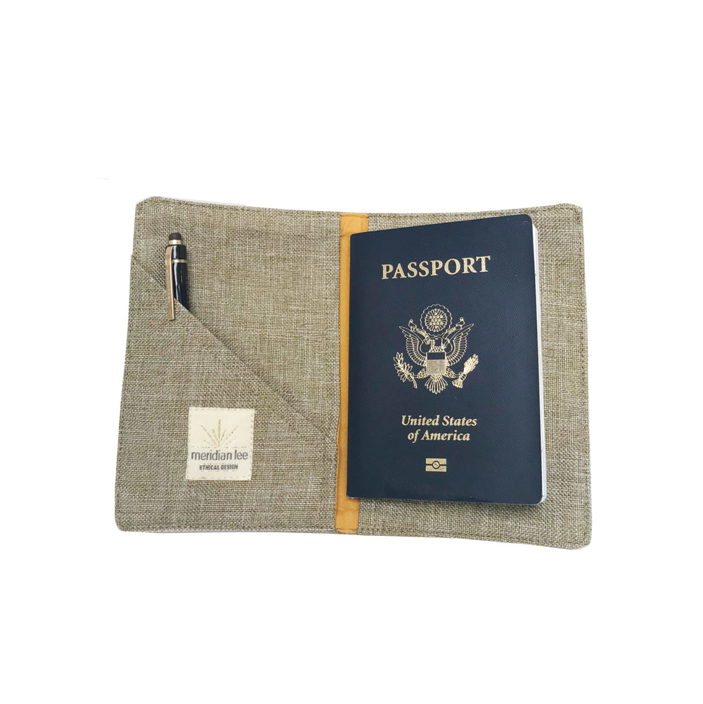 Mini Journal/ Passport Cover</br><i><small>(White Pine)</i></small> - Meridian Lee