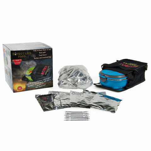 Hot Box Cooker Kit Open