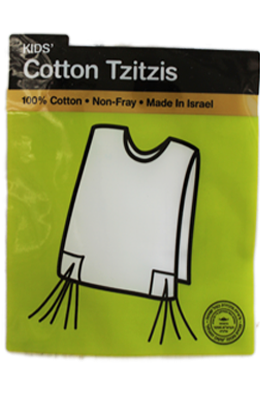 Children's Cotton Tzitzis - Chabad
