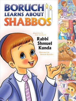 Boruch Learns About Shabbos - Book
