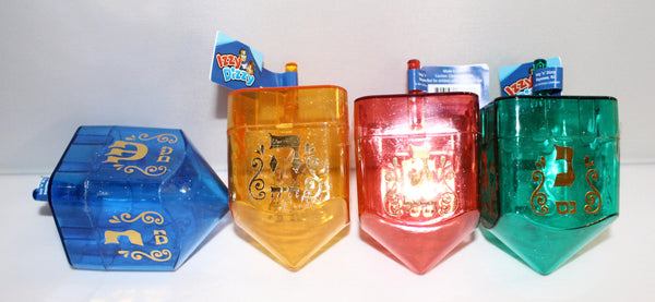 Medium Plastic Fillable Dreidel