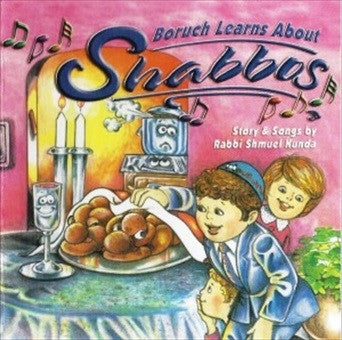 Boruch Learns About Shabbos - CD