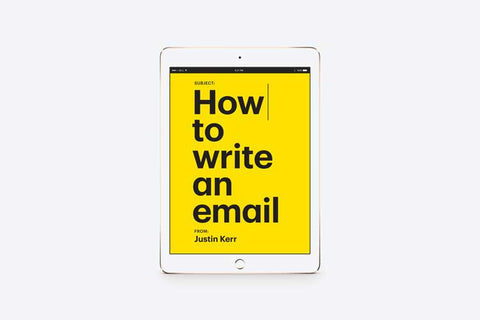 How to write an email ePub