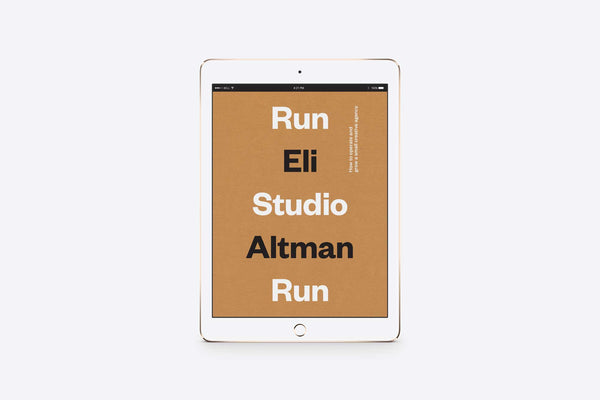 Run Studio Run Digital Download