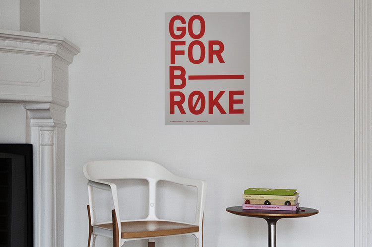 Go For Broke Poster