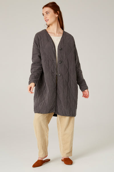 Brooklyn Quilted Coat