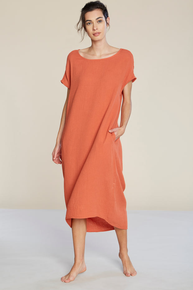 Brook Cotton Dress