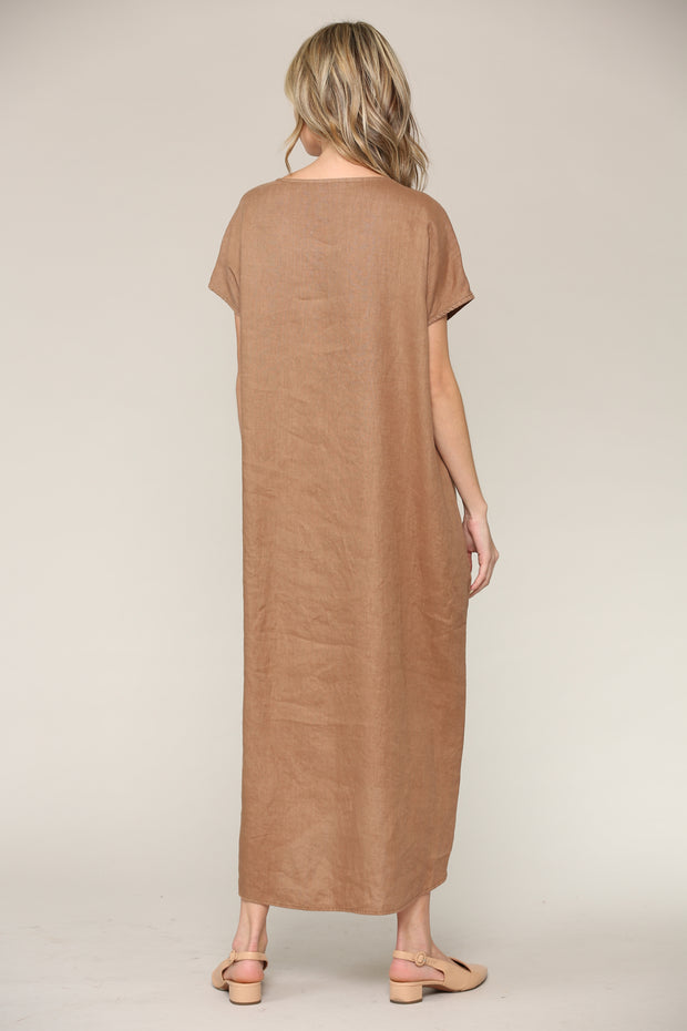 Brooke Linen Dress