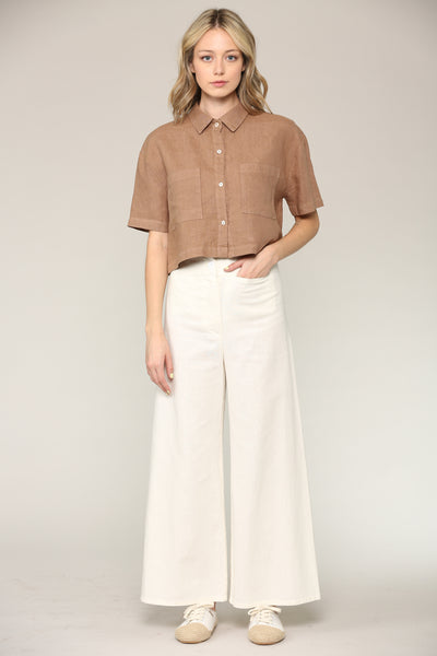Josie Crop Shirt