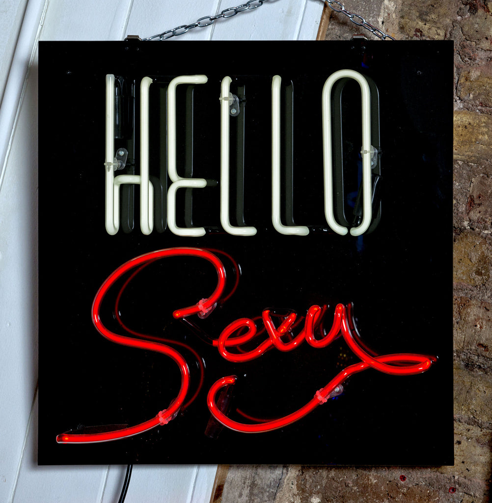 Neon Artwork 'Hello Sexy' by Gods Own Junkyard