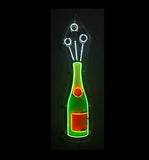 Champagne Bottle Neon