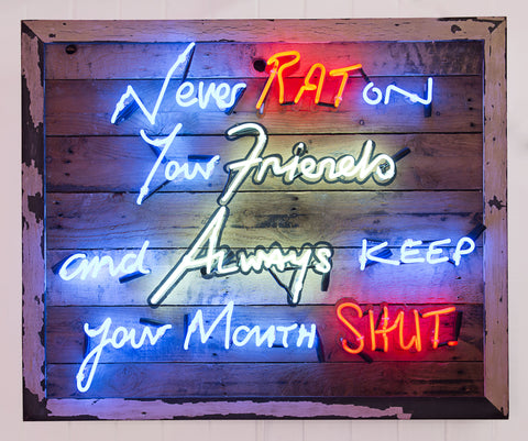 """Never Rat On Your Friends"" by Charley Bracey"