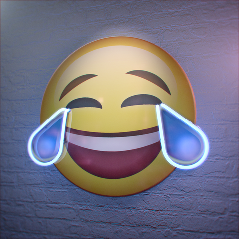 Emoti-Neons - Crying with Laughter
