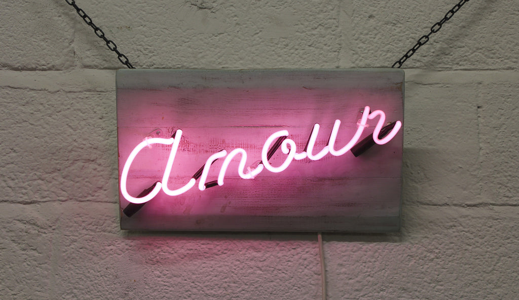 Neon Artwork 'Amour' by Gods Own Junkyard