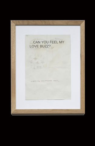 CAN YOU FEEL MY LOVE BUZZ? - TEMPLATE REFERENCE SHEETS by VICTORIA LUCAS & RICHARD WILLIAM WHEATER
