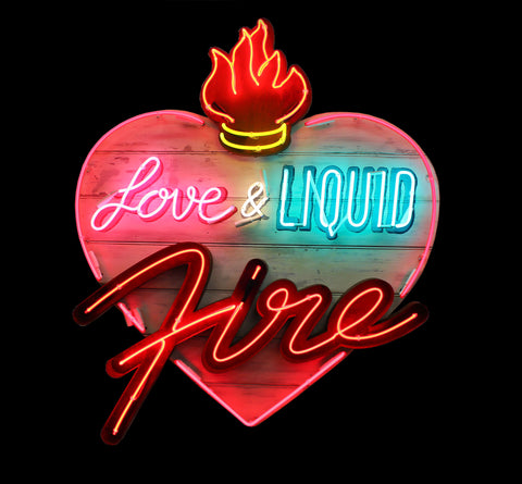 """Love & Liquid Fire"" by Linda Bracey"
