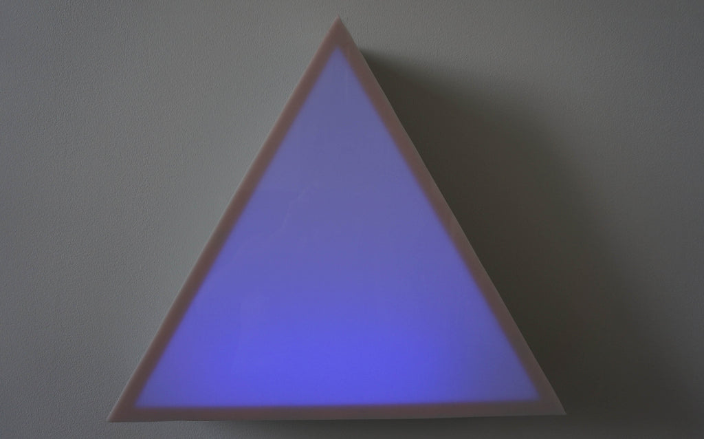 Triangle Lightbox by Henry Byrne