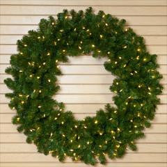 Wreath Incandescent Clear