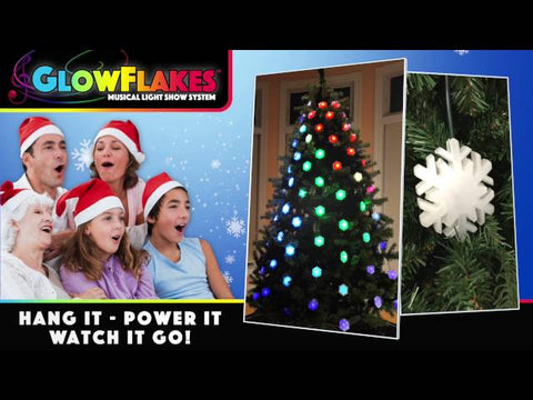 Geekmytree Musical Glowflakes