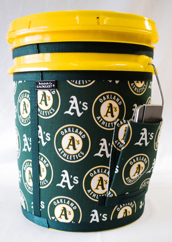 Oakland A's - Yellow Bucket