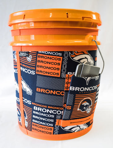 Denver Broncos- Orange Bucket