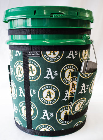 Oakland A's - Green Bucket