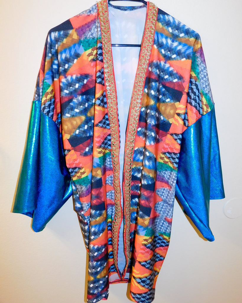 Cozza Frenzy Festival Jacket - ONE OF A KIND
