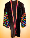 They're Out There Velvet Festival Jacket - ONE OF A KIND