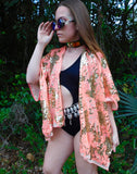2 The Basement Sequin Kimono - LIMITED