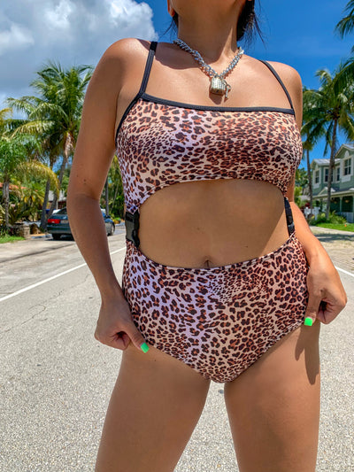 The Alarma Bodysuit - Bad Kitty
