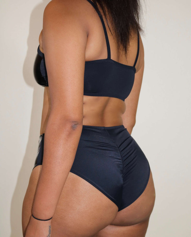 Vortex Panel High Waist Bottoms