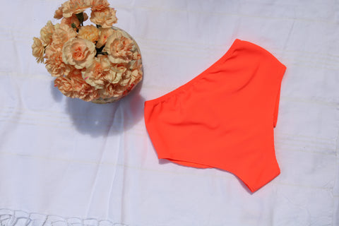 MELON RIBBED HIGH WAIST BOTTOM