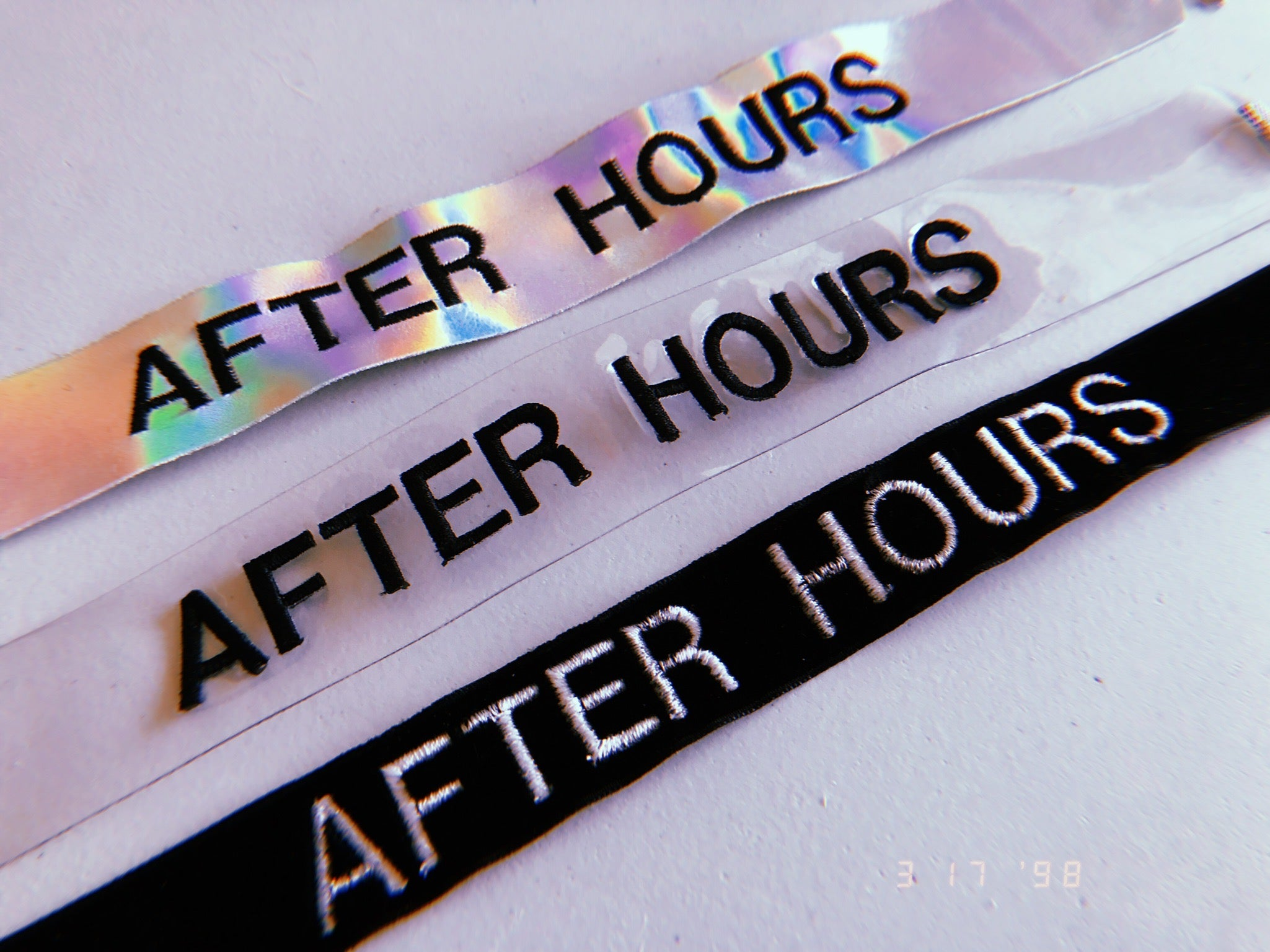 Afterhours Choker - Clear Vinyl - Mi Gente Clothing X Stinnys