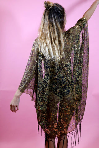 MADE TO ORDER - Boogie Nights Sequin Kimono