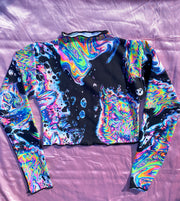 ACIDBATH LONG SLEEVE SURFER CROP