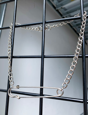 Safety First Chain Necklace