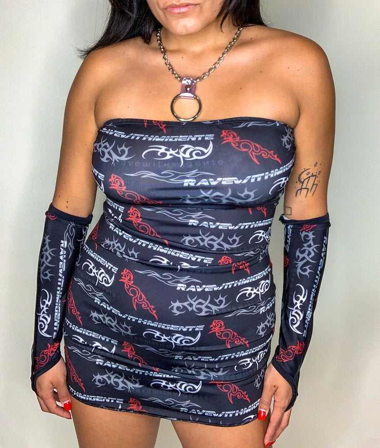 RWMG OR DIE TUBE DRESS