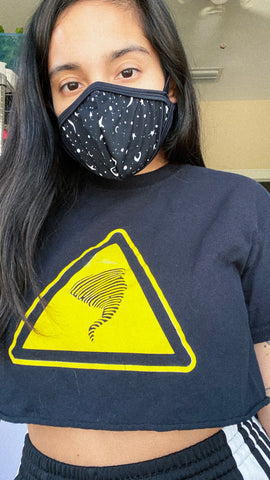 Starry Eyes Face Mask (with Seam) PREORDER