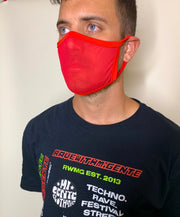 Hot Chili Red Mesh Face Mask (PREORDER)