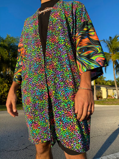 GOING TO THE ZOO RAVE One-Of-A-Kind RWMG Festival Jacket