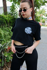 Mi Gente Clothing Logo Crop Tee