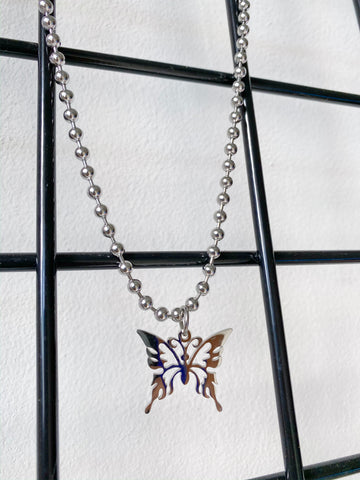 Come Fly Away Chain Necklace