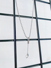 Spoon Pendant Chain Necklace